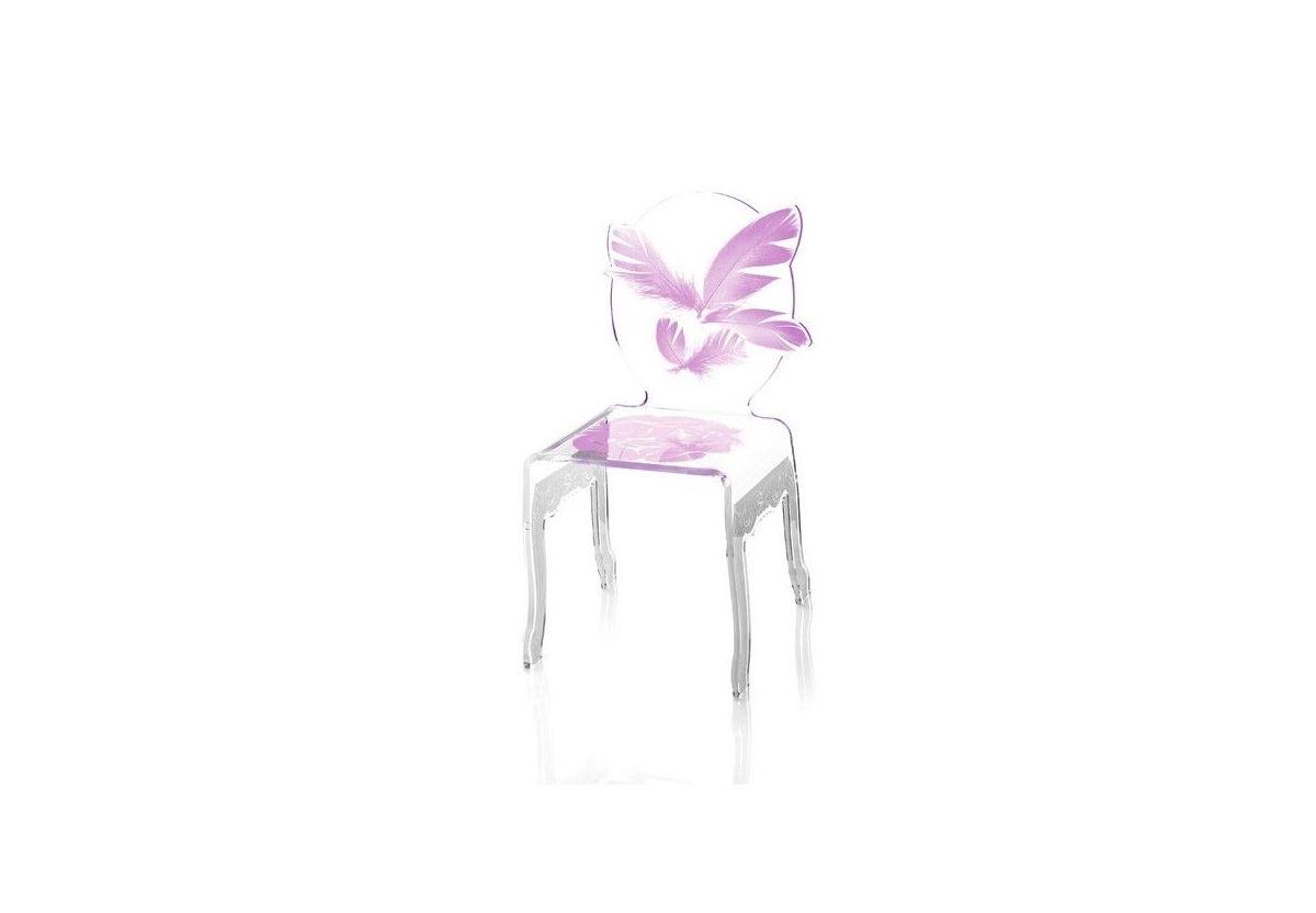 chaise plume enfant