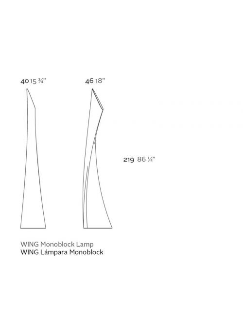 Lampe WING