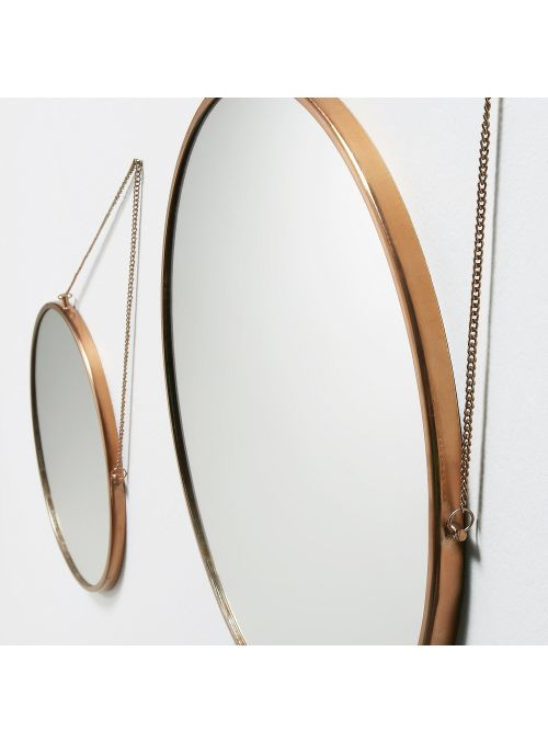 SET 2 MIROIRS ROND ICON