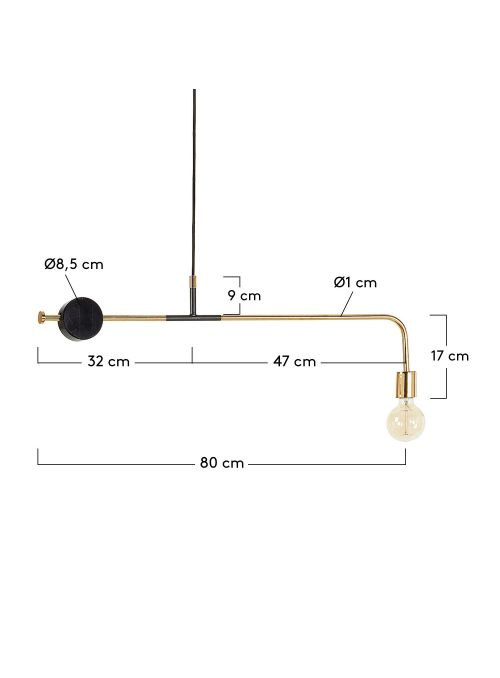 WICK LAMPE SUSPENSION LAITON