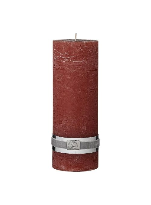 BOUGIE CYLINDRIQUE RUSTIC...