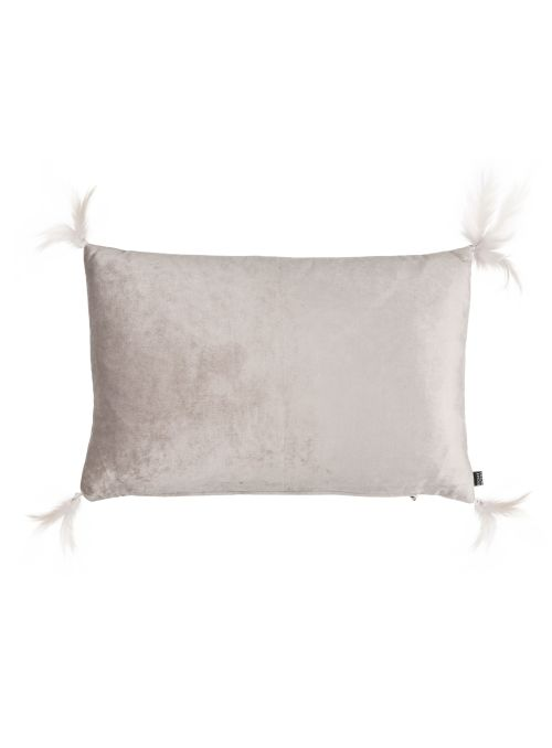 COUSSIN JOSELYN FEATHER TASSEL