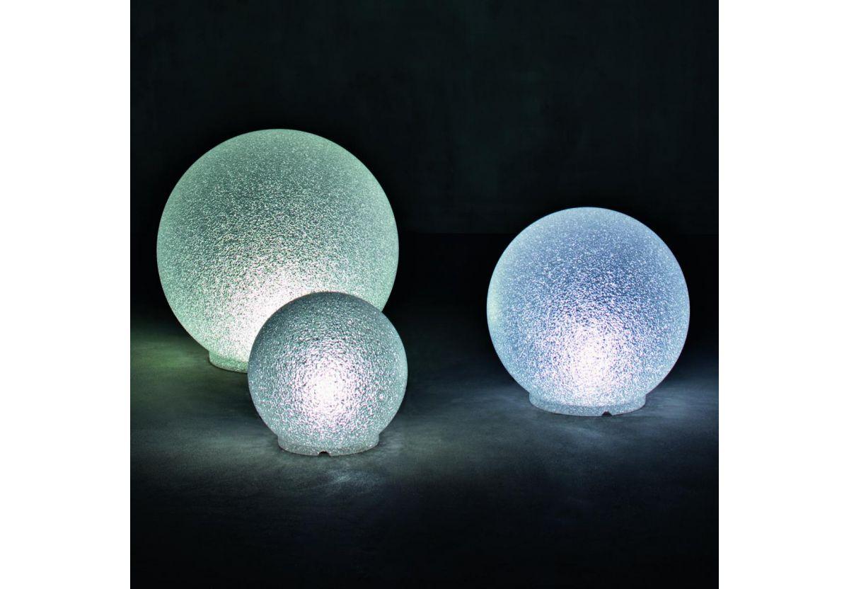 LAMPE A POSER CRYSTAL MOON DIAM 75