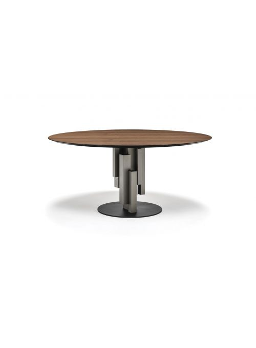 TABLE SKYLINE WOOD ROUND