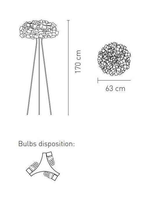 LAMPADAIRE CLIZIA FUME