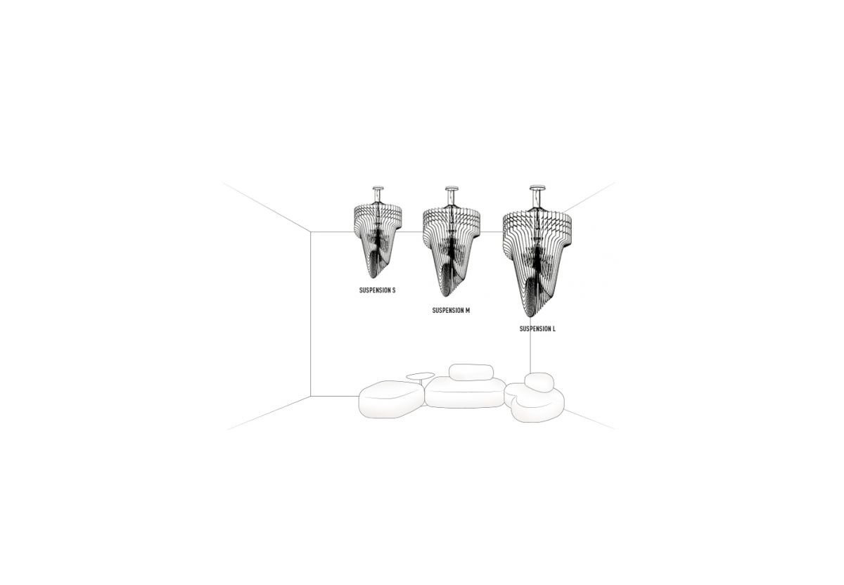 SUSPENSION ARIA TRANSPARENT