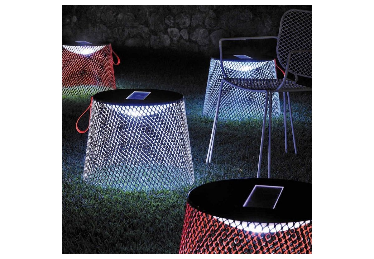 IVY TABLE POUF LUMINEUX